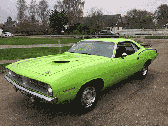 Plymouth Cuda totalrenovering